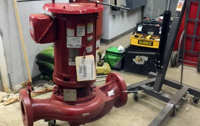 Fire Sprinkler Projects | Quincy Massachusetts
